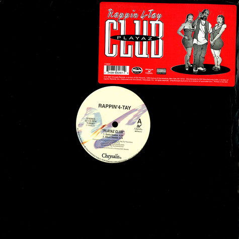Rappin' 4-Tay - Playaz Club (The Remixes)