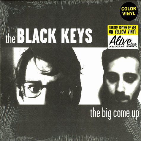 Black Keys, The - The big come up yellow vinyl