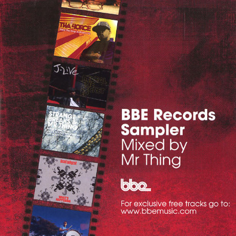 Mr.Thing - BBE Records sampler