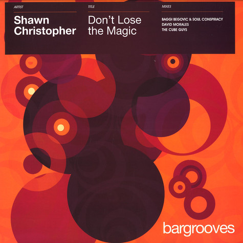 Shawn Christopher - Don't lose the magic