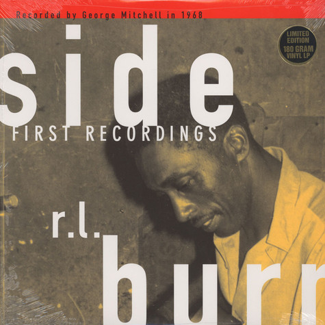 R.L. Burnside - First recordings