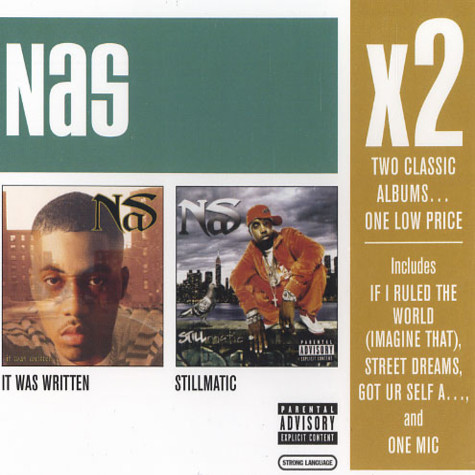 Nas - X2: it was written / stillmatic