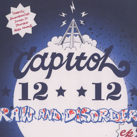 Capitol 12 12 - Raw and disorder EP feat. Donald D & Grandmaster Caz