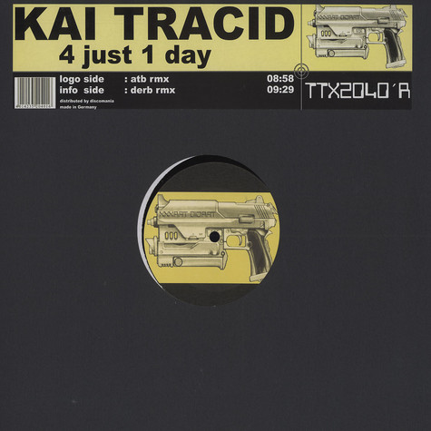 Kai Tracid - 4 just 1 day ATB remix