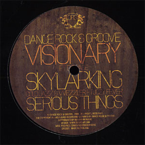 Visionary / Cold Jazz & Wezzler - Skylarking feat. D Suade / serious things feat. Joey Fever