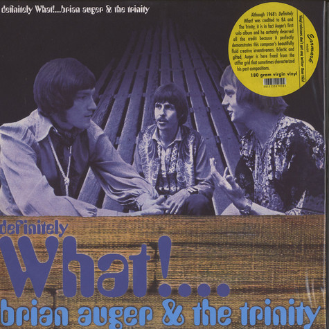 Brian Auger & The Trinity - Definitely what!...