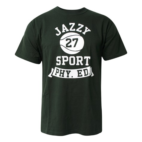 Jazzy Sport Records - Basketball logo T-Shirt