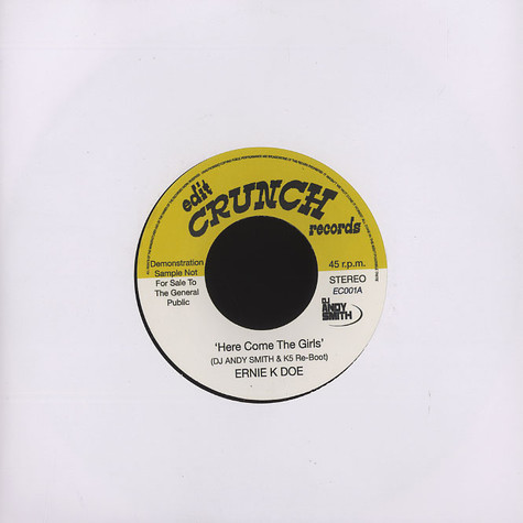 Ernie K.Doe - Here come the girls DJ Andy Smith & K5 re-boot