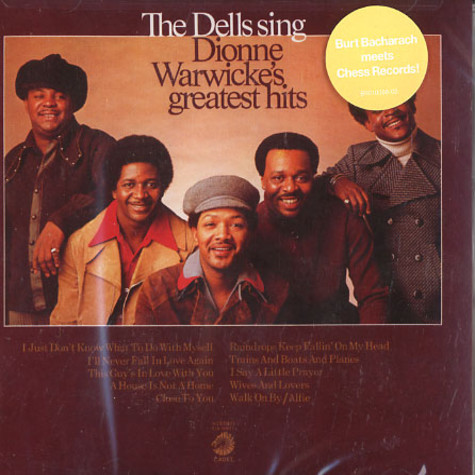 Dells, The - The Dells sing Dionne Warwick's greatest hits