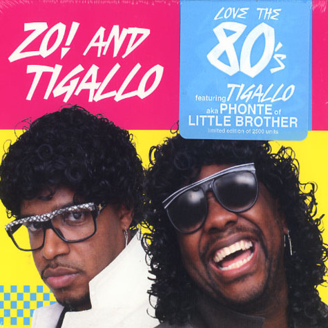 Zo! & Tigallo (Phonte of Little Brother) - Love the 80's