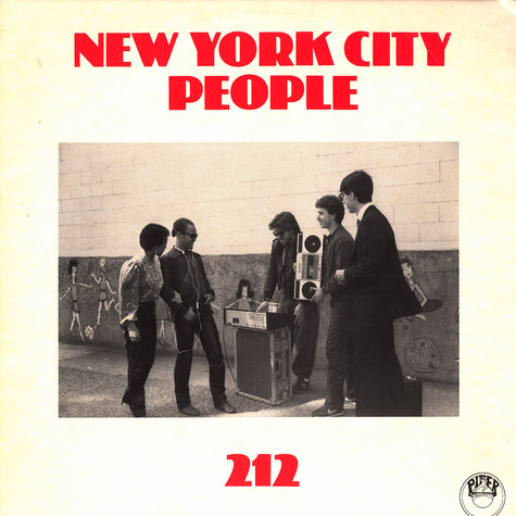 212 - New York City people