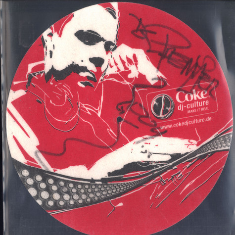 Coke DJ Culture - DJ Premier slipmat