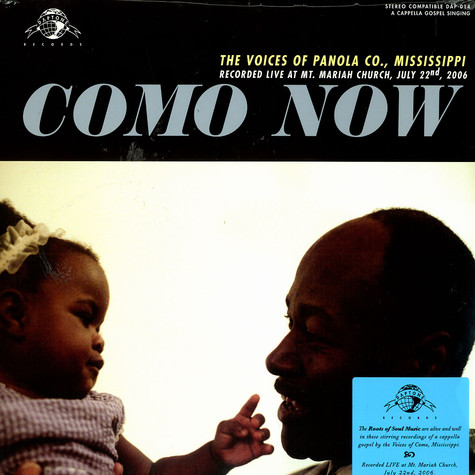 V.A. - Como now: the voices of Panola