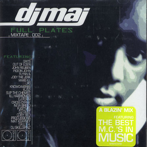 DJ Maj presents - Full plates mixtape 002