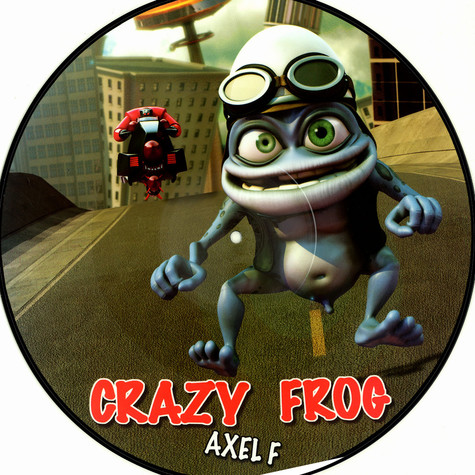Crazy Frog - Axel F - vinyl 2 of 2