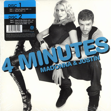 Madonna - 4 minutes / Give it 2 me