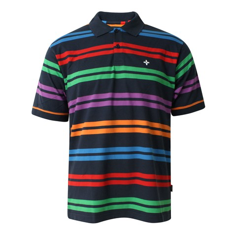 Addict - Multi Stripe Polo Shirt