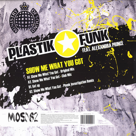Plastik Funk - Show me what you got feat. Alexandra Prince