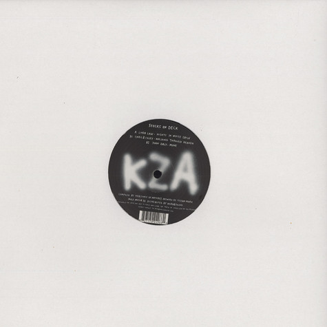 KZA (Force Of Nature) - Stocks on deck sampler