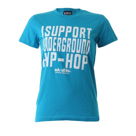 Edukation Athletics - I support underground hip hop Women T-Shirt