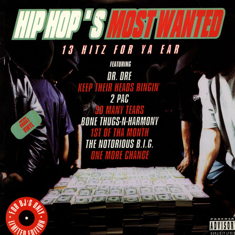 V.A. - Hip Hop's Most Wanted - 13 Hitz For Ya Ear