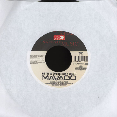 Mavado - On the go (faster than a bullets)