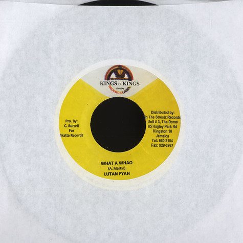 Lutan Fyah / Iley Dread - What a whao / see dem a come