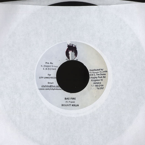 Bounty Killer / Frisco Kid - Bad fire / can't tame