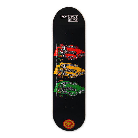 Abstract Rude X Soundclash Skateboards - Skateboard deck