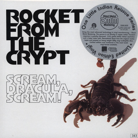 Rocket From The Crypt - Sream, Dracula, Scream!