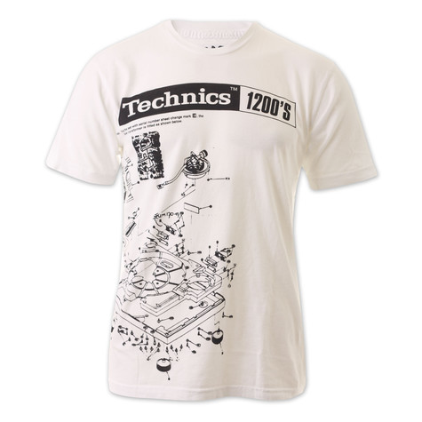 Technics - Schematics T-Shirt