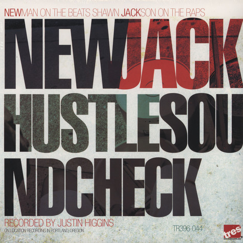 New Jack Hustle (Shawn Jackson & Newman of Giant Panda) - Soundcheck