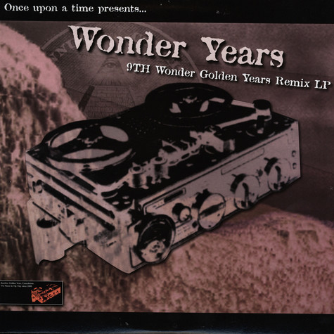 9th Wonder - Wonder years - 9th Wonder golden years remix LP