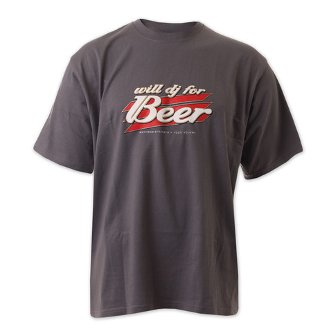 DMC & Technics - Will DJ for beer T-Shirt