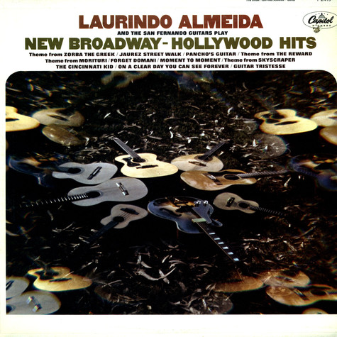 Laurindo Almeida - New Broadway Hollywood hits