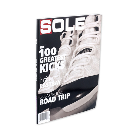 Sole Collector - 2008 - September / October - Issue 24 - The 100 greatest kicks