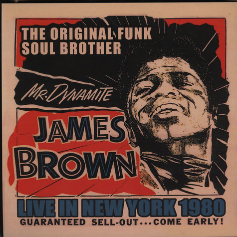 James Brown - Live in New York 1980