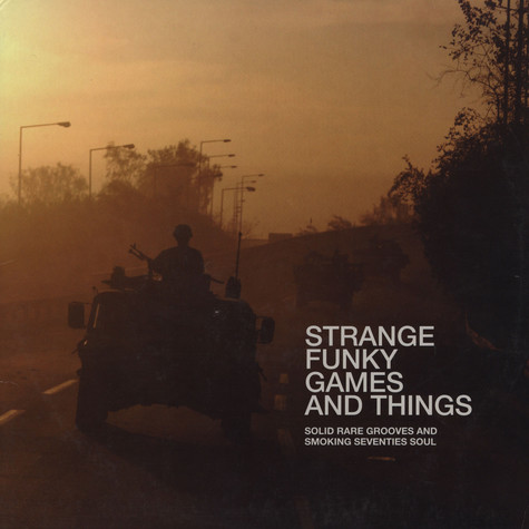 V.A. - Strange funky games and things