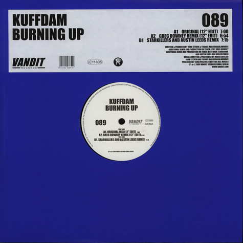 Kuffdam - Burning up
