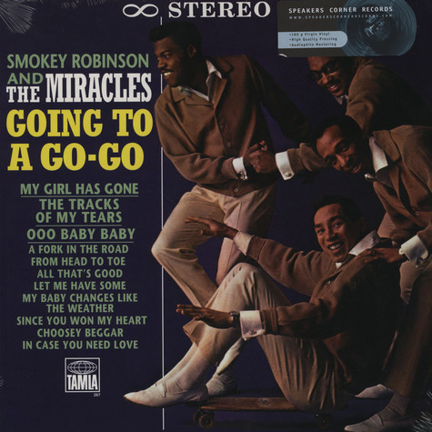 Smokey Robinson & The Miracles - Going to a go-go