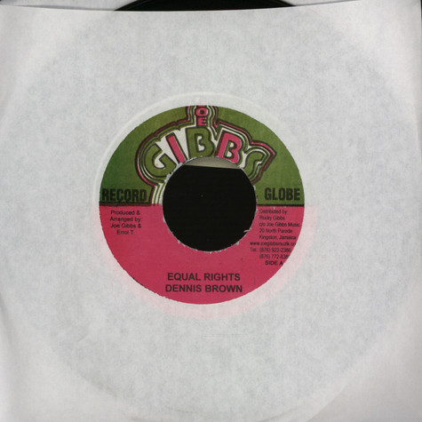 Dennis Brown - Equal rights