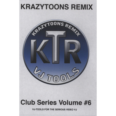 Krazytoons Remix - VJ tools club series volume 6