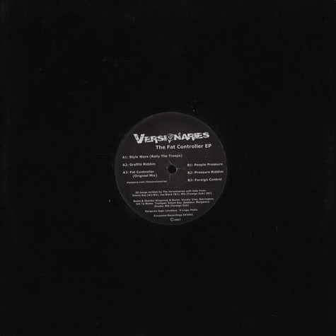 Versionaries, The - Fat controller EP