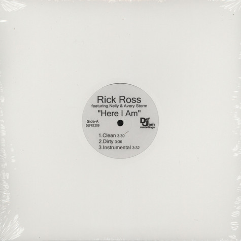 Rick Ross - Here i am feat. Nelly & Avery Storm