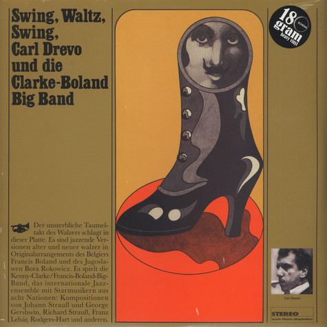 Carl Drewo & The Clark Boland Big Band - Swing, waltz, swing