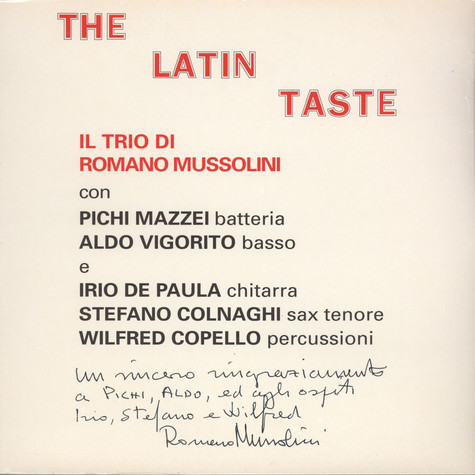 Romano Mussolini - The Latin Taste
