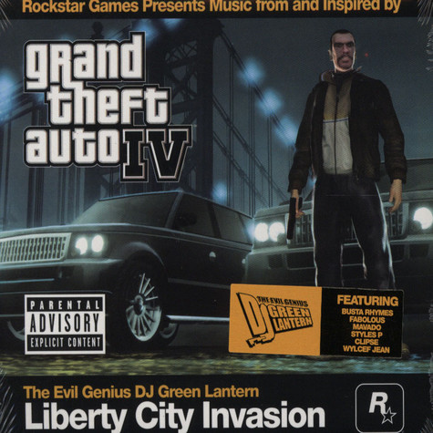 Dj Green Lantern               - Grand Theft Auto IV
