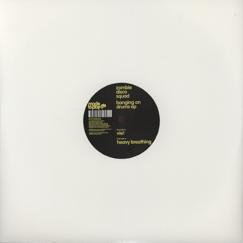 Zombie Disco Squad - Banging on drums EP
