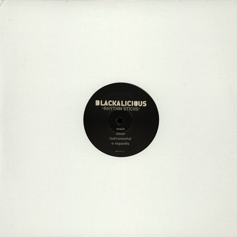 Blackalicious - Rhythm sticks