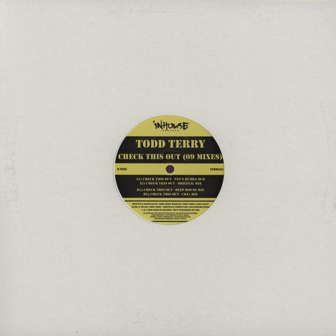 Todd Terry - Check This Out 09